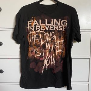 Hot Topic Falling in Reverse band tee